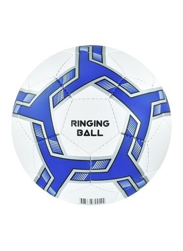 Selex Ringing Ball Görme Engelliler Için 5 No Futbol Topu Lacivert